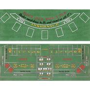 Trademark Poker Blackjack and Craps 2 Sided Layout 36 x 72 inch at Kmart.com