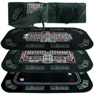 Trademark Poker Superior 3 in 1 Poker/Craps/Roulette Tri Fold Table Top at Kmart.com