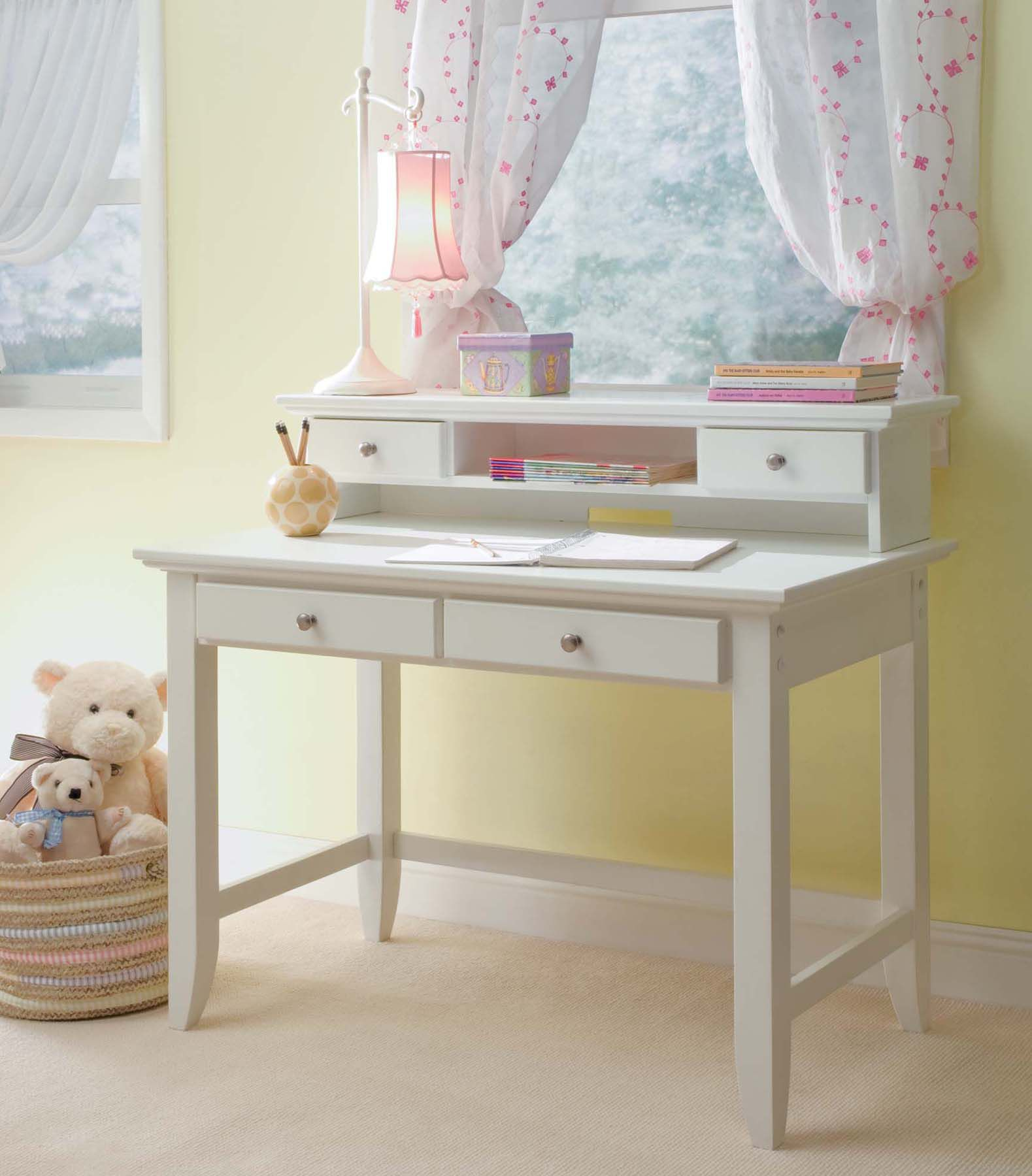 hutch desk small awesome ideas computer space with saving picture diy pin