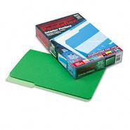 Pendaflex 1/3 Cut Top Tab Legal File Folders, Green, 100/Box at Sears.com