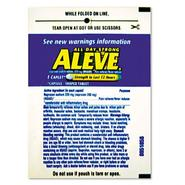 Lil Drugstore Single-Dose Aleve Caplet, 30 Packs per Box at Kmart.com