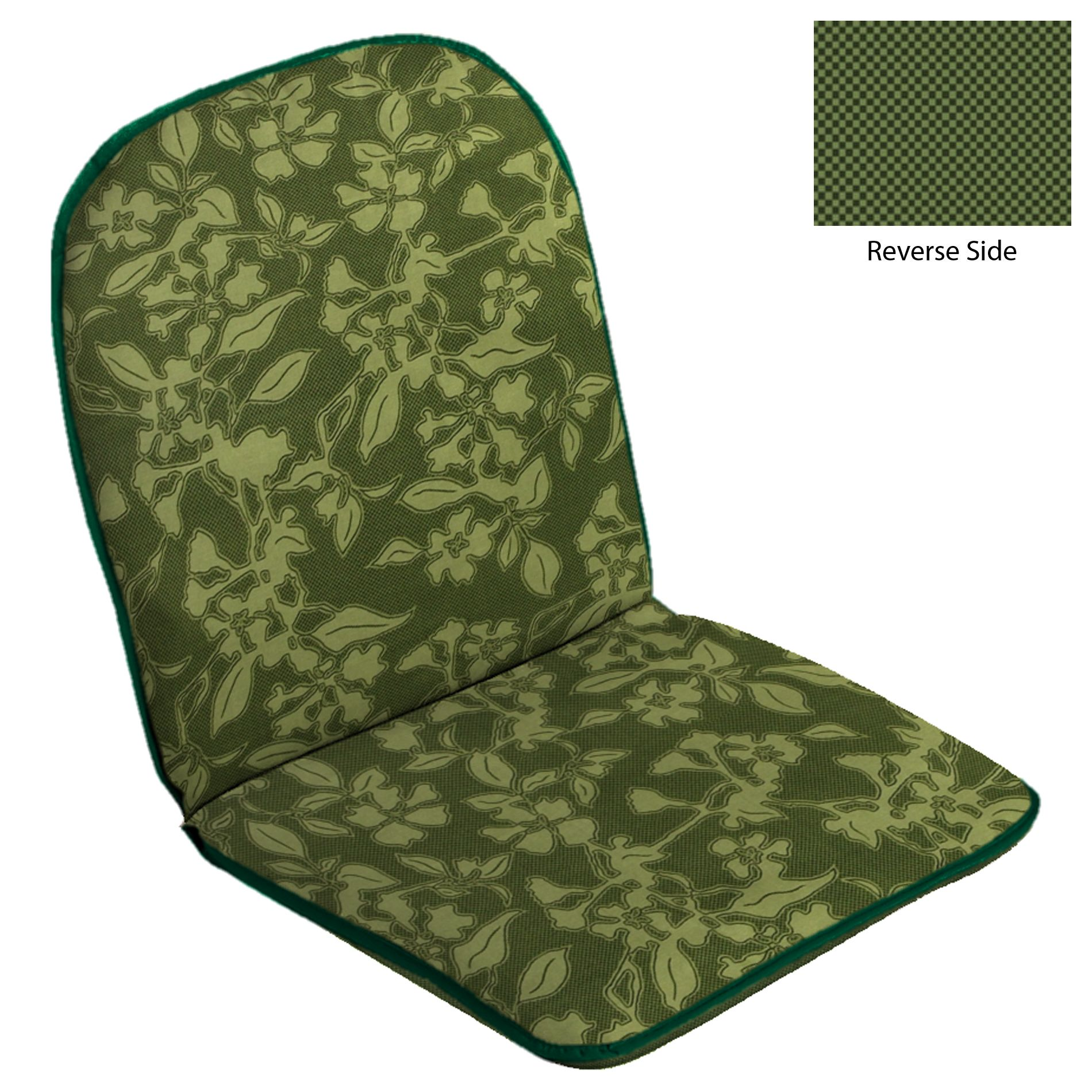 Patio Hinged Chair Cushion - Douglas/Douglas Texture                                                                             at mygofer.com