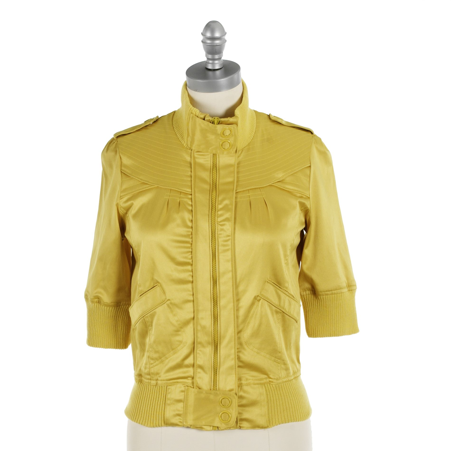 Outer Edge Zipped Front Elbow Sleeve Jacket at Sears.com
