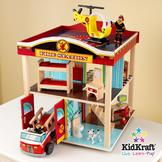 Kidkraft Fire Station Set at mygofer.com