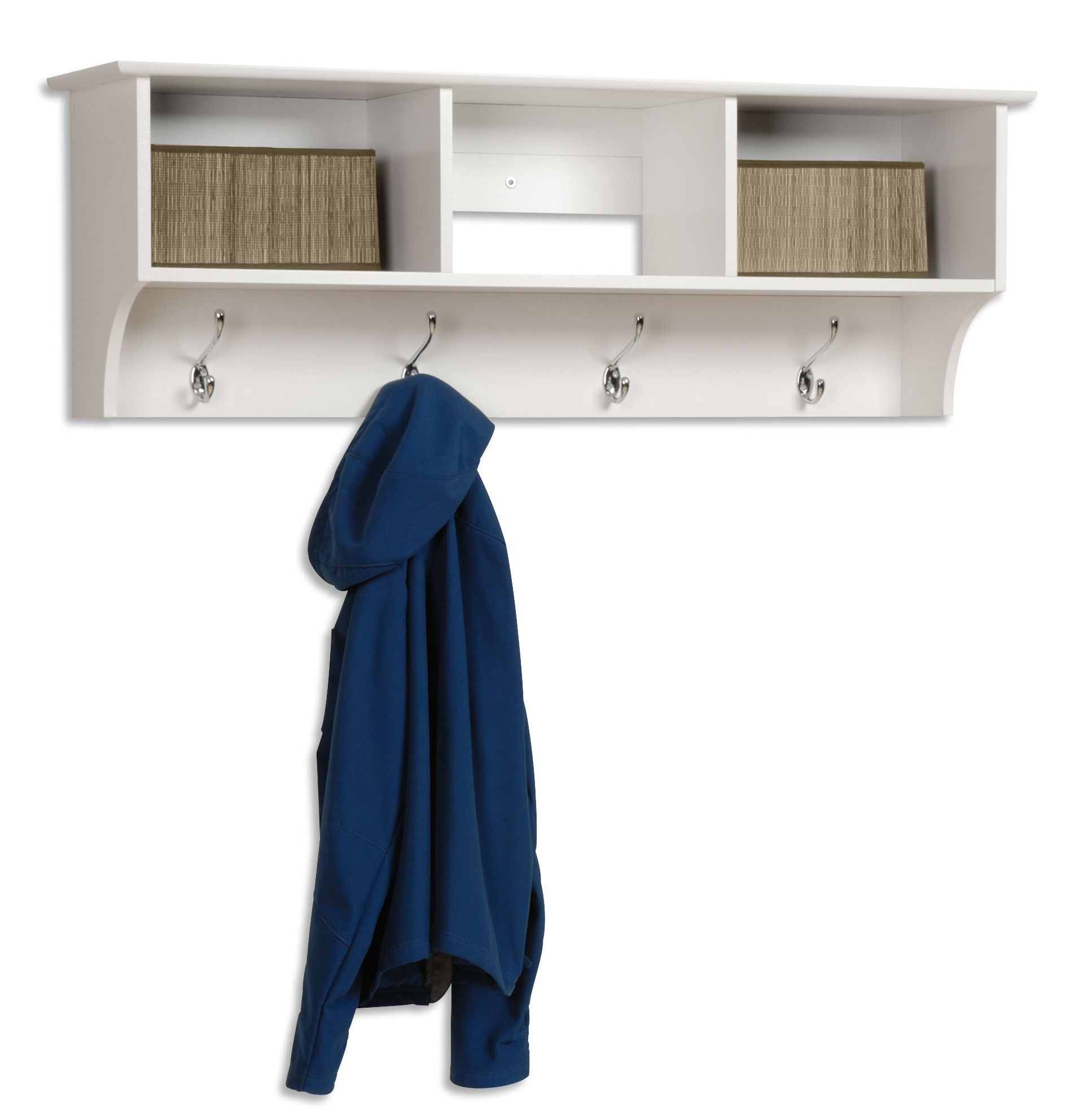 Prepac  White Entryway Cubbie Shelf