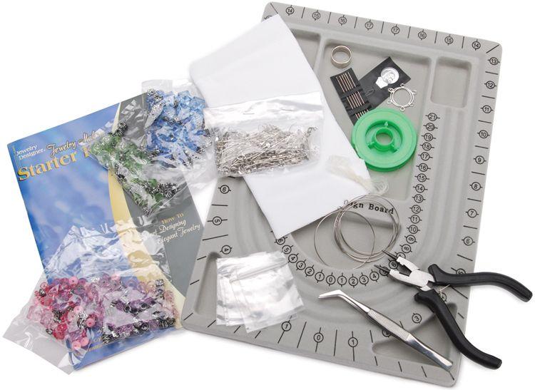 Darice Jewelry Making Starter Kit PartNumber: 021V002156517000P KsnValue: 2156517 MfgPartNumber: 198542