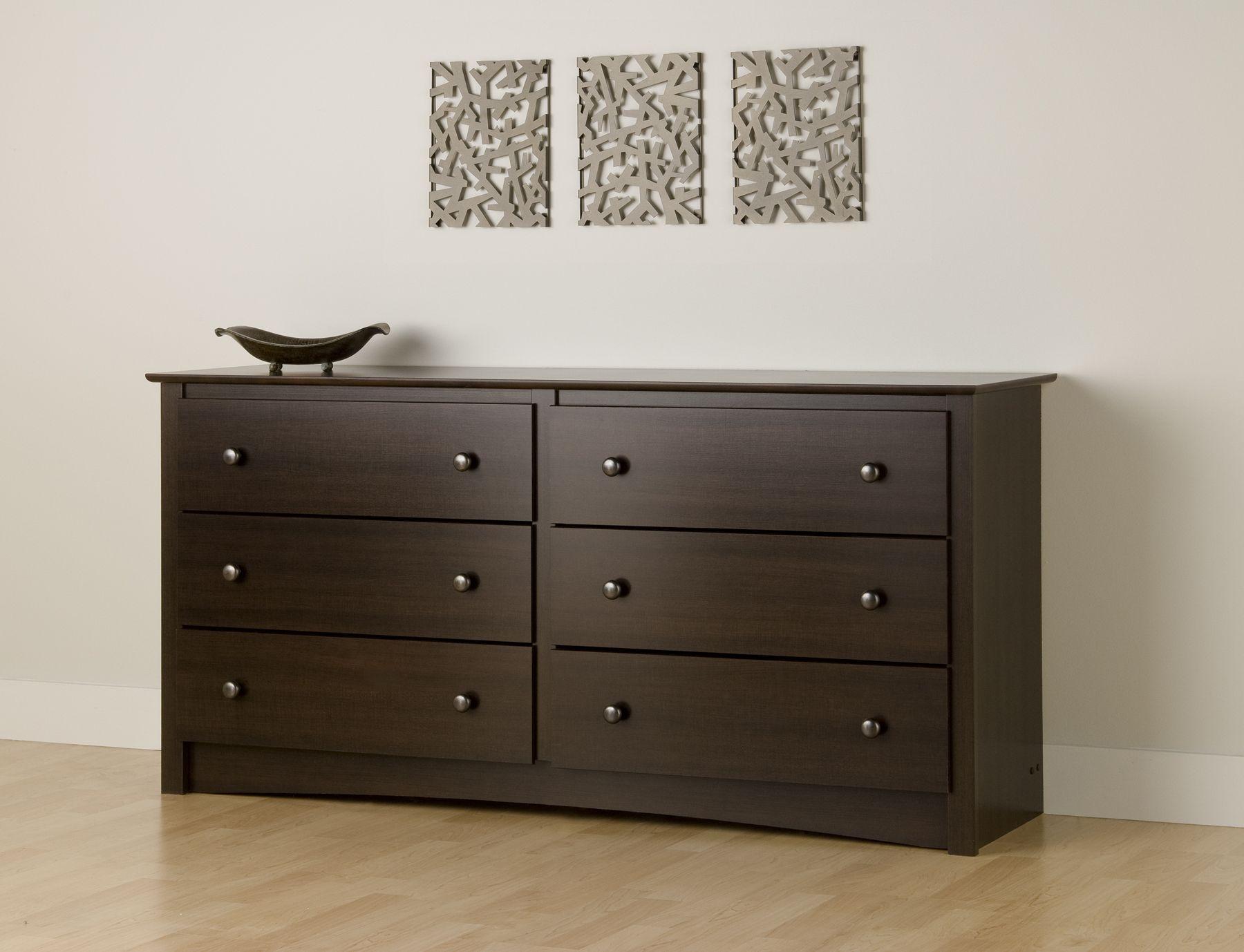 Prepac Fremont 6 Drawer Dresser