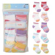 WonderKids Infant Girl's 10-Pair Lowcut Socks at Kmart.com
