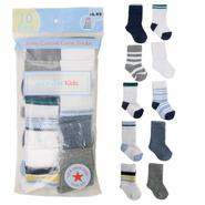 WonderKids Infant's Boys 10-Pair Crew Socks at Kmart.com