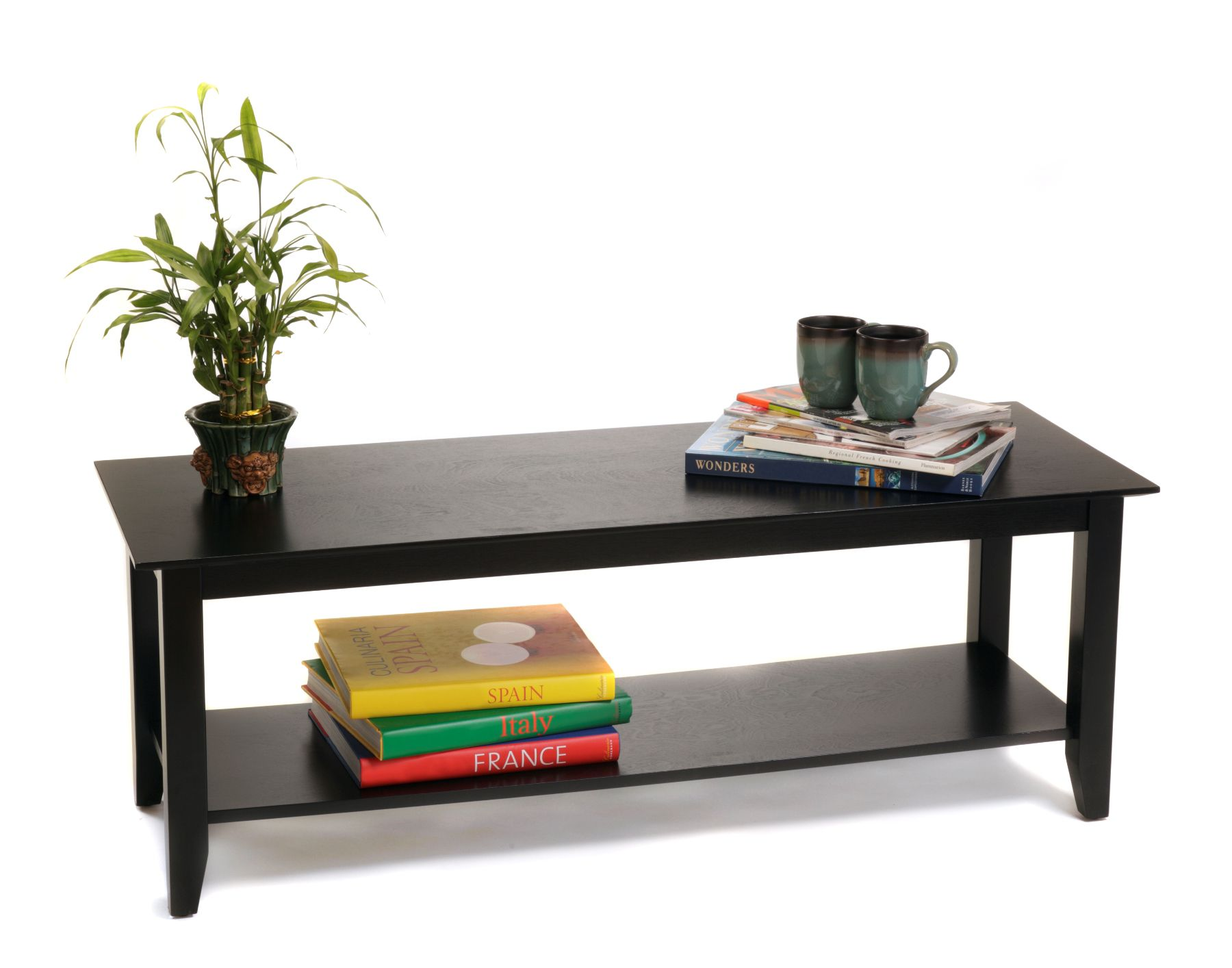 American Heritage Black Coffee Table
