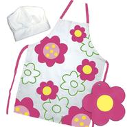 Sassafras Flower Power Apron Set at Kmart.com