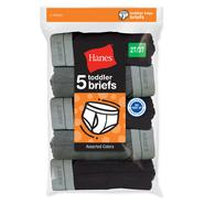 Hanes Toddler Boy's 5-Pack Comfort Fit Briefs at Kmart.com