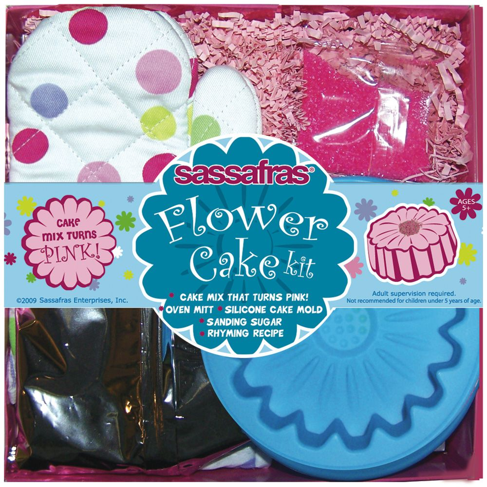 Sassafras  Flower Cake Kit