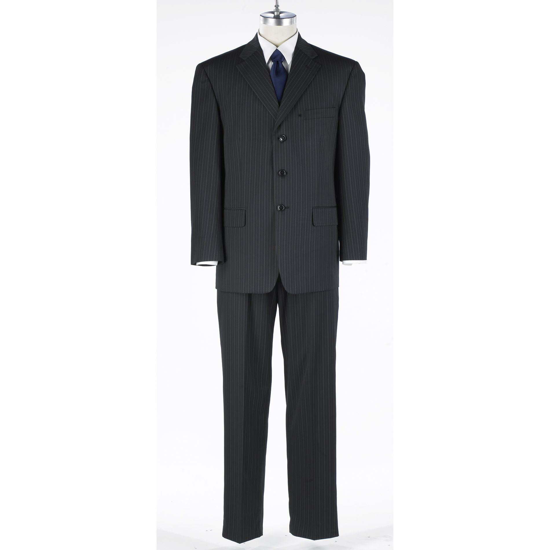 Haggar Suit Up System™ Tonal Coin Edge Stripe Suit Collection at Sears.com