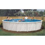 "GSM 24' Round Above Ground Pool Package, 52"" Height - Free Shipping at Kmart.com"