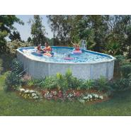 "GSM 12' x 20' Oval Above Ground Pool Package, 52"" Height - Free Shipping at Sears.com"