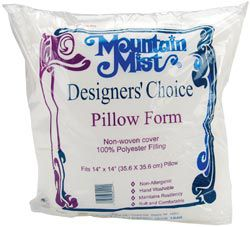 Mountain Mist Fiber Designer's Choice Pillowforms 14