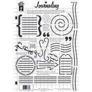 "Hot Off The Press Templates 8.5""X11""-Journaling at Kmart.com"
