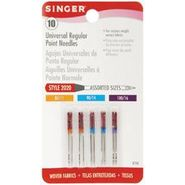 Singer Regular Point Machine Needles-Size 11, 14, 16 10/Pkg at Kmart.com