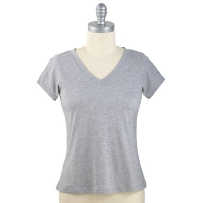 Athletech Women's Short Sleeve V-Neck Tee
