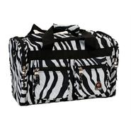 "Rockland Fox Luggage 19"" Tote Bag, Zebra at Kmart.com"