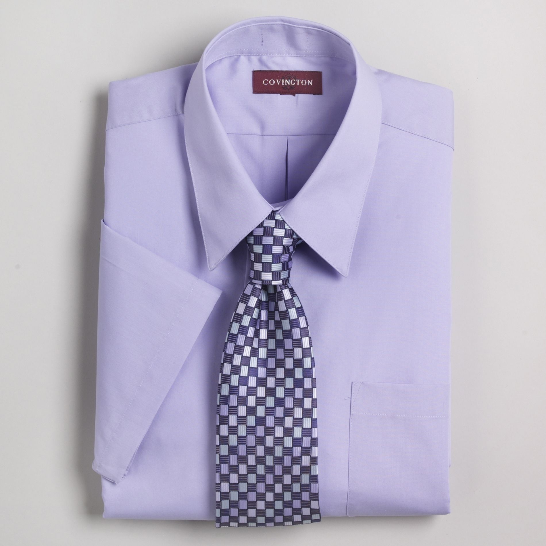 Covington Short Sleeve Dress Shirt and Silk