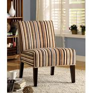Oxford Creek Accent Chair in Striped Fabric at Sears.com
