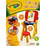 Crayola Fold N Go Art Studio at Kmart.com