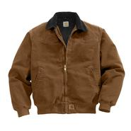 Carhartt Men's Sandstone Santa Fe Jacket/Quilted- Flannel Lined at Sears.com