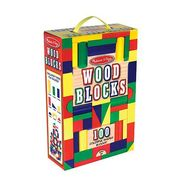 Melissa & Doug 100 Wood Blocks Set at Kmart.com