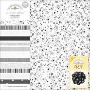 "DOODLEBUG Paper Plus Assortment Pack 12""X12"" Sheets 12/Pkg-Tuxedo at Sears.com"