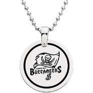 NFL Tampa Bay Buccaneers Logo Circle Pendant with Chain at Sears.com