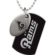 NFL St. Louis Rams Double Dog Tag with Chain at Sears.com