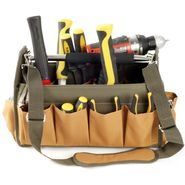 Trademark Tools Rugged Nylon 14 Pocket Tool Bag w/ Large Center Compartment at Craftsman.com