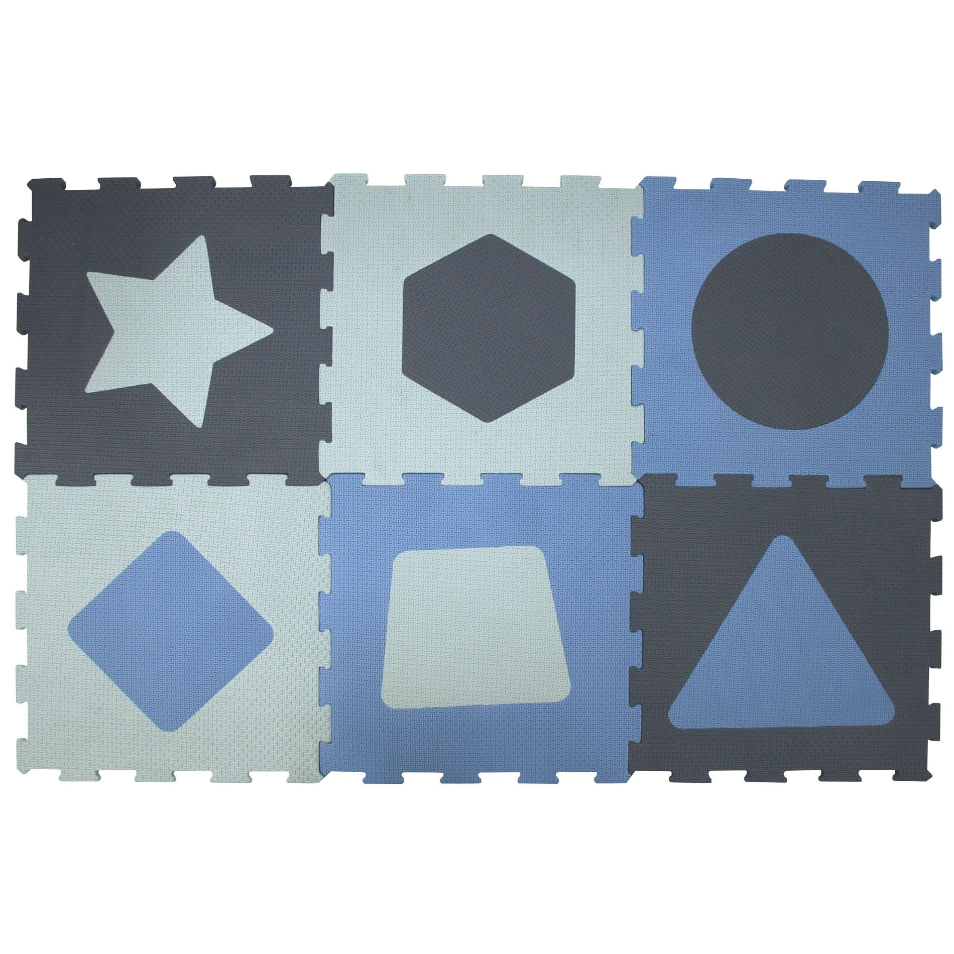 Fun Assorted Shape Foam Flooring