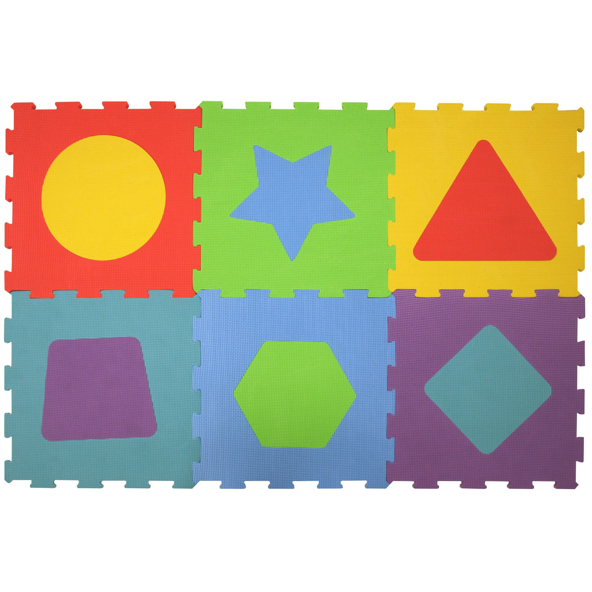 Safety 1st  Fun Shapes Foam Flooring In