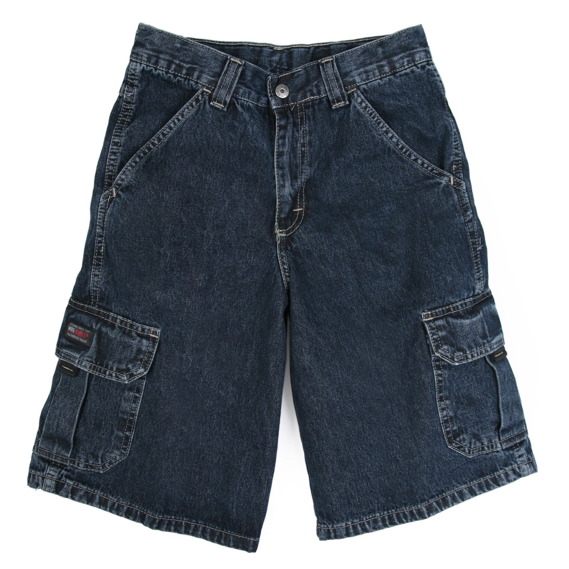 Wrangler  Boy's Solid Color Cargo Shorts