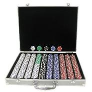 Trademark Poker 1,000 Landmark Casino 11.5 Gram Poker Chips w/ in ALUM Case at Kmart.com