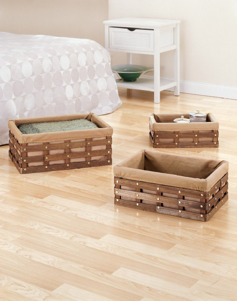 Rectangular Basket Set of 3