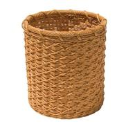 Neu Home Natural Round Wicker Wastebasket at Kmart.com