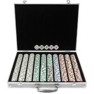 Trademark Poker 1000 Chip 11.5g HIGH ROLLER Set w/Aluminum Case at Kmart.com
