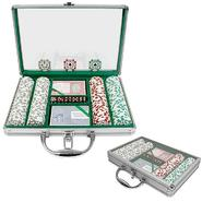 Trademark Poker 200 Chip 11.5g HIGH ROLLER Set w/Clear Cover Aluminum Case at Kmart.com