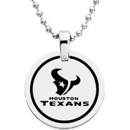 NFL Houston Texans Logo Circle Pendant with Chain at Sears.com