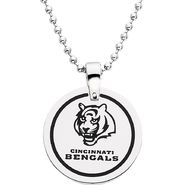 NFL Cincinnati Bengals Logo Circle Pendant with Chain at Sears.com