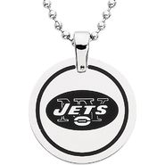 NFL New York Jets Logo Circle Pendant with Chain at Sears.com