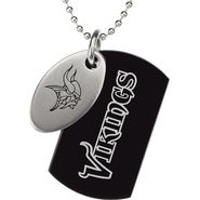 NFL Minnesota Vikings Double Dog Tag with Chain at Sears.com