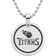 NFL Tennessee Titans Logo Circle Pendant with Chain at Sears.com