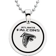 NFL Atlanta Falcons Logo Circle Pendant with Chain at Sears.com