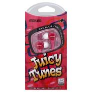 Maxell Juicy Tunes Ear Buds, Red, 1 pair at Kmart.com