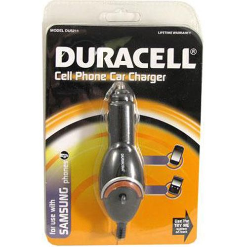 Duracell Samsung Cellular Phone Car Charger